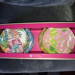 """Lilly Pulitzer for Target 7"""" Porcelain Plates"""